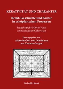 Abbildung von KREATIVITÄT UND CHARAKTER | 2017 | Recht, Geschichte und Kultur i... | 138