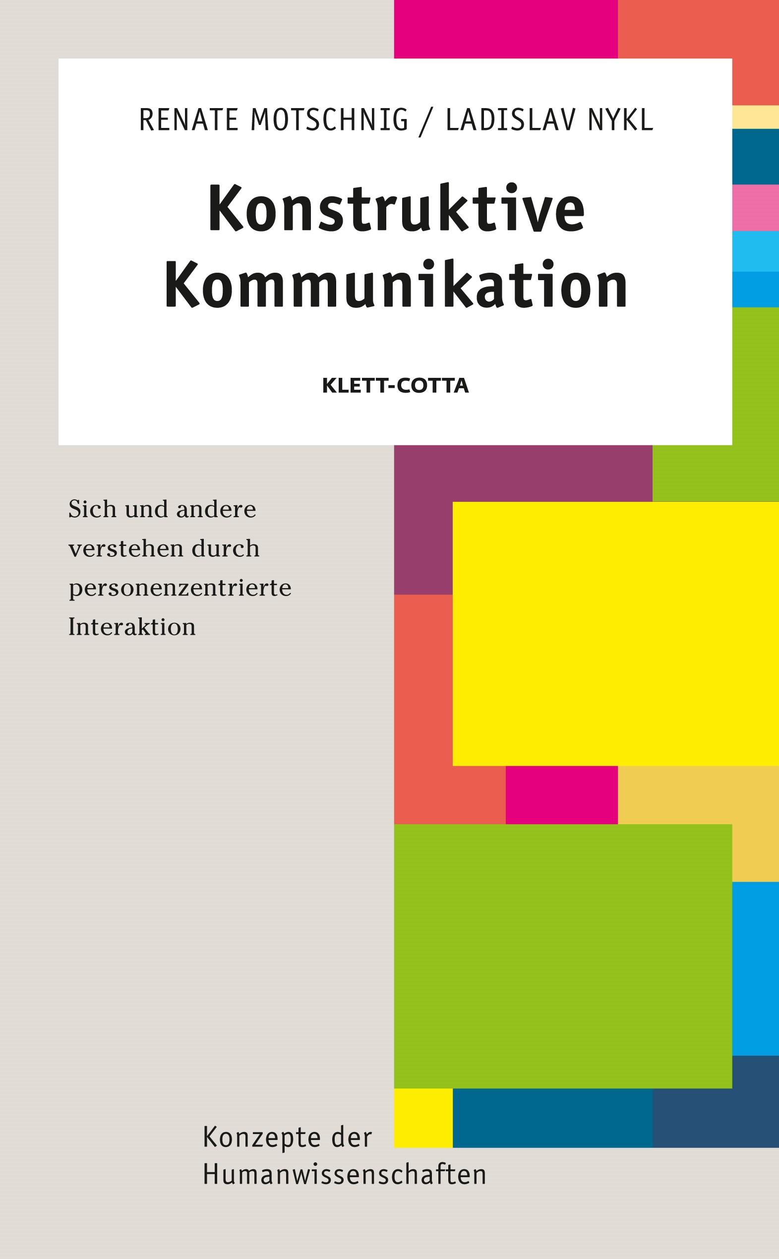 Konstruktive Kommunikation | Motschnig / Nykl, 2009 | Buch (Cover)