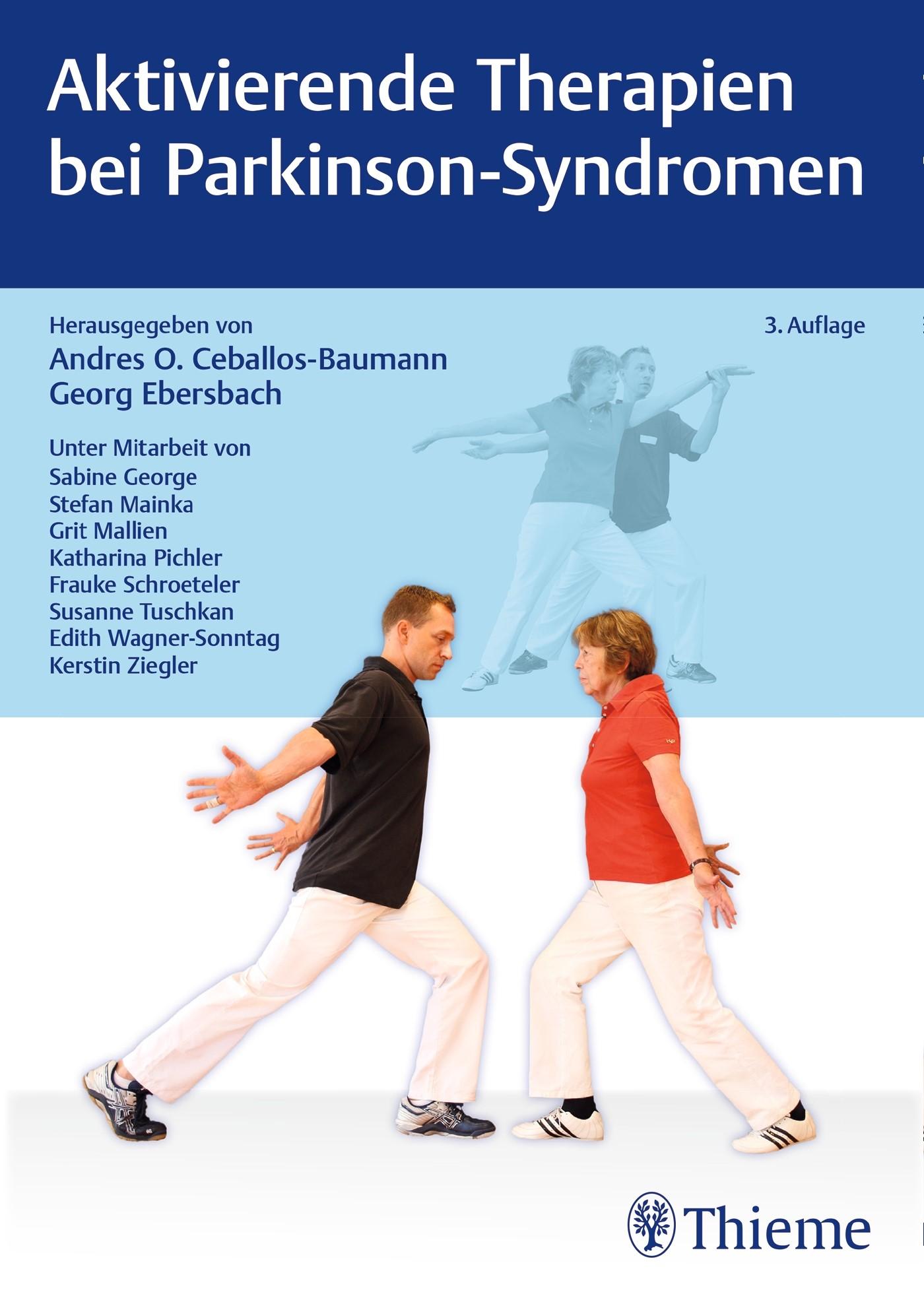 Aktivierende Therapien bei Parkinson-Syndromen | Ceballos-Baumann / Ebersbach (Hrsg.) | 3., aktualisierte Auflage, 2017 | Buch (Cover)
