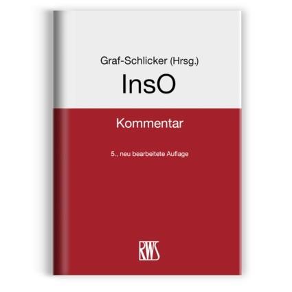 InsO | Graf-Schlicker (Hrsg.) | 5. neu bearbeitete Auflage, 2018 | Buch (Cover)