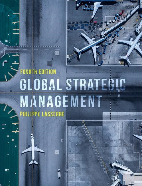 Global Strategic Management | Lasserre | 4th ed. 2018, 2017 | Buch (Cover)