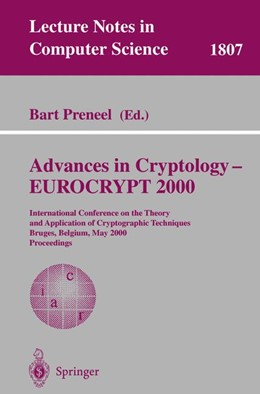 Abbildung von Preneel | Advances in Cryptology – EUROCRYPT 2000 | 2000 | International Conference on th... | 1807