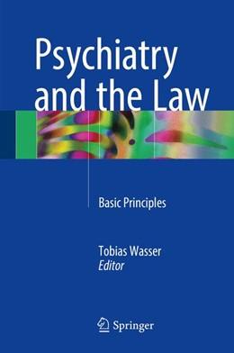 Abbildung von Wasser | Psychiatry and the Law | 1. Auflage | 2017 | beck-shop.de