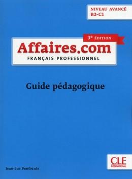 Abbildung von affaires.com. Guide pédagogique | 1. Auflage | 2018 | beck-shop.de