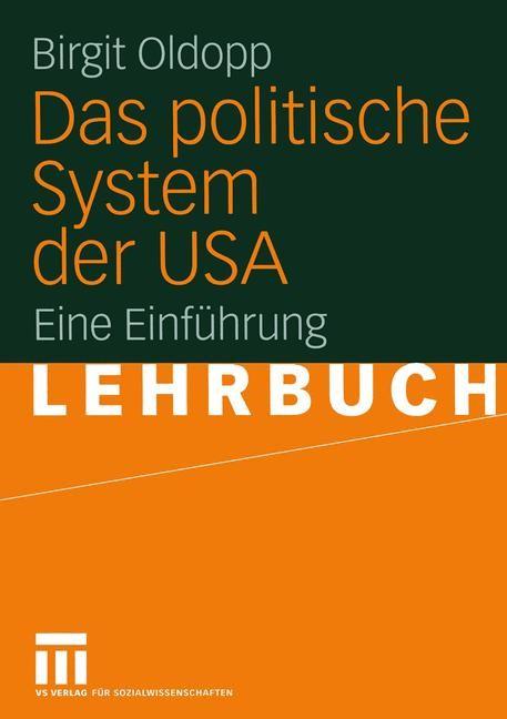 Das politische System der USA   Oldopp   2005, 2005   Buch (Cover)