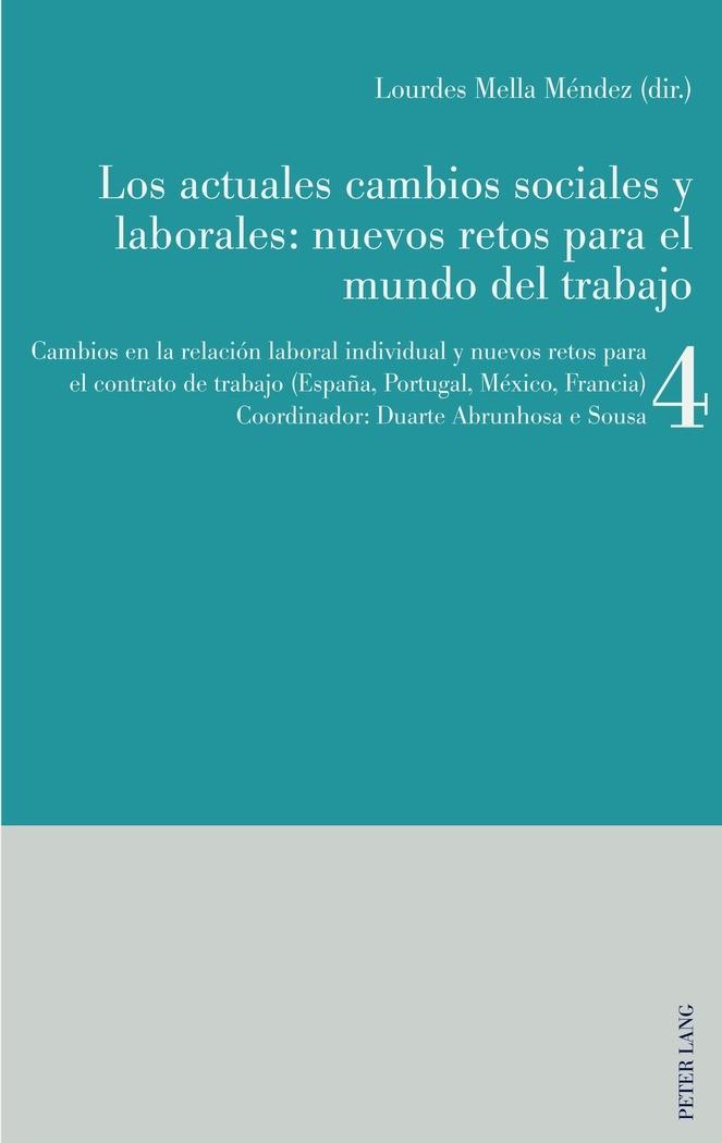 Abbildung von Mella Méndez / Abrunhosa e Sousa | Los actuales cambios sociales y laborales: nuevos retos para el mundo del trabajo | 2017