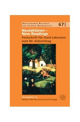 Abbildung von Neulektüren – New Readings | 2009 | Festschrift für Gerd Labroisse... | 67