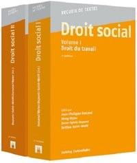 Abbildung von Dunand / Wyler / Dupont / Kahil-Wolff | Droit social, Volumes I + II | 2017