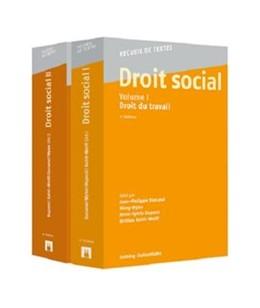 Abbildung von Dunand / Wyler / Dupont / Kahil-Wolff   Droit social, Volumes I + II   2017   Droit du travail - Droit des a...