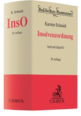 Abbildung von Schmidt | Insolvenzordnung: InsO | 20. Auflage | 2020 | InsO mit EuInsVO | Band 27