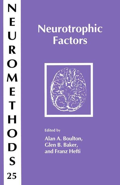 Neurotrophic Factors | Boulton / Baker / Hefti, 1993 | Buch (Cover)