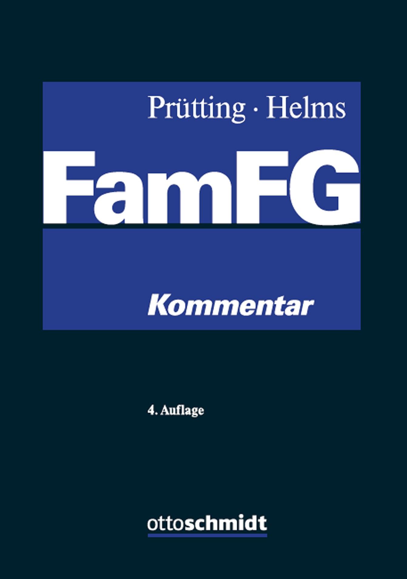 FamFG   Prütting / Helms   4., neu bearbeitete Auflage, 2017   Buch (Cover)