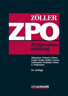 Abbildung von Zöller   ZPO   32., neu bearbeitete Auflage   2018   Zivilprozessordnung