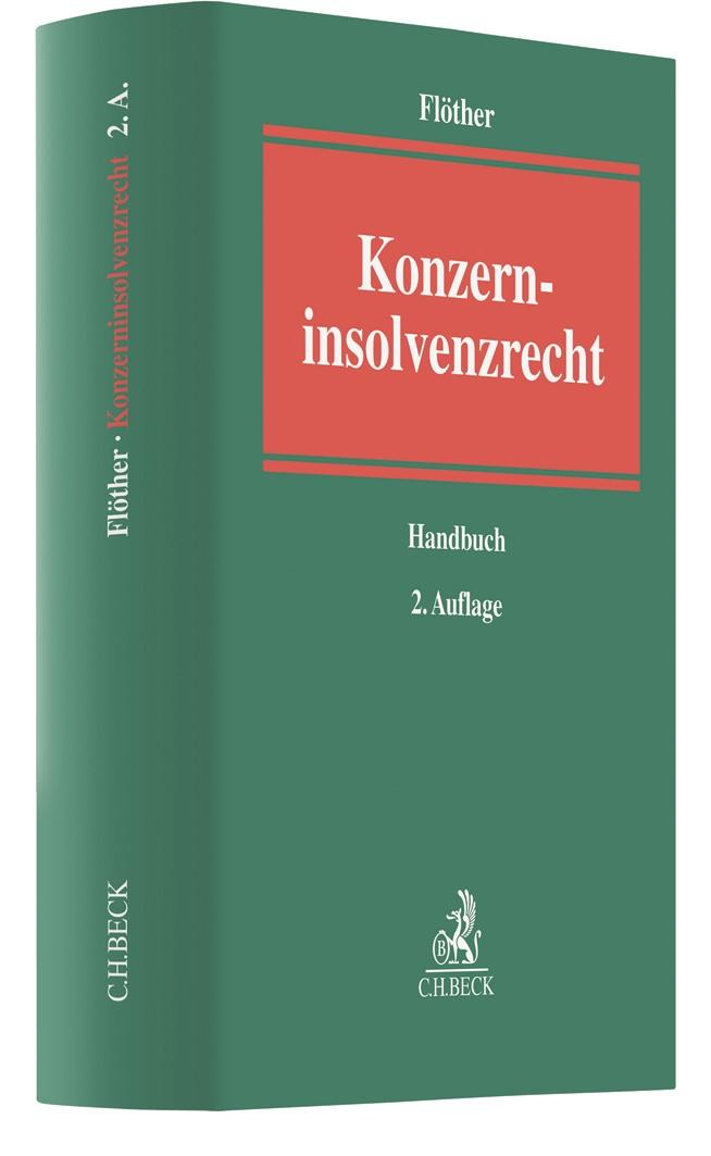 Konzerninsolvenzrecht | Flöther | 2. Auflage, 2018 | Buch (Cover)