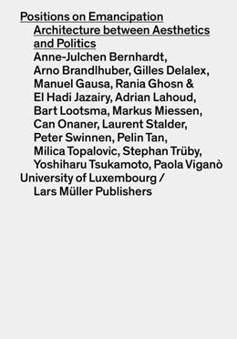 Abbildung von Hertweck | Positions on Emancipation | 2018 | Architecture between Aesthetic...