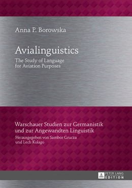 Abbildung von Borowska | Avialinguistics | 2017 | The Study of Language for Avia...