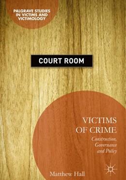 Abbildung von Hall | Victims of Crime | 1. Auflage | 2018 | beck-shop.de