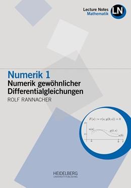 Abbildung von Rannacher   Numerik 1   1. Auflage   2017   beck-shop.de