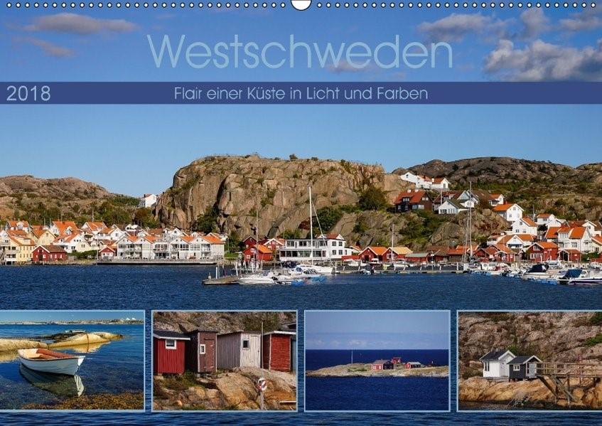Westschweden - Flair einer Küste in Licht und Farben (Wandkalender 2018 DIN A2 quer) Dieser erfolgreiche Kalender wurde dieses Jahr mit gleichen Bildern und aktualisiertem Kalendarium wiederveröffentlicht. | Liedtke Reisefotografie | 2. Edition 2017, 2017 (Cover)