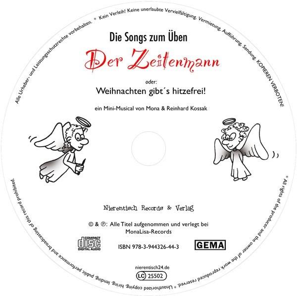 """25 Übungs-CDs """"Der Zeitenmann"""", 2017 (Cover)"""