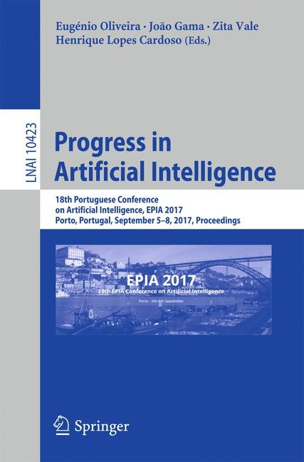 Progress in Artificial Intelligence | Oliveira / Gama / Vale / Lopes Cardoso, 2017 | Buch (Cover)