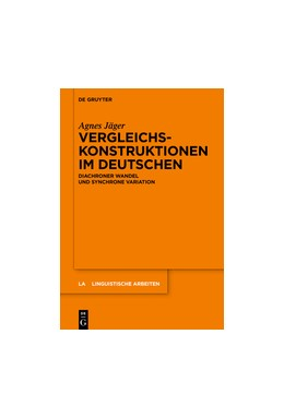 Abbildung von Jäger | Vergleichskonstruktionen im Deutschen | 1. Auflage | 2018 | beck-shop.de
