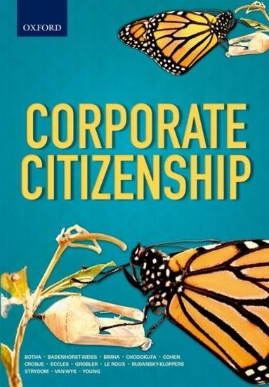 Corporate Citizenship | Botha / Cohen / Bimha, 2017 | Buch (Cover)