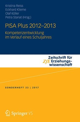Abbildung von Reiss / Klieme / Köller / Stanat | PISA Plus 2012 – 2013 | 2017