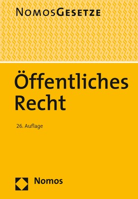 Öffentliches Recht | 26. Auflage, 2017 | Buch (Cover)