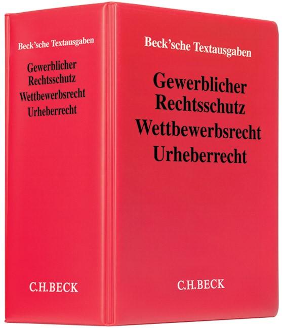 Gewerblicher Rechtsschutz, Wettbewerbsrecht, Urheberrecht   61. Auflage (Cover)