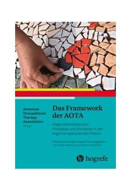 Abbildung von Marotzki / Reichel   Das Framework der AOTA   2018   Gegenstandsbereich, Prozesse u...