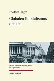 Globalen Kapitalismus denken | Lenger, 2018 | Buch (Cover)