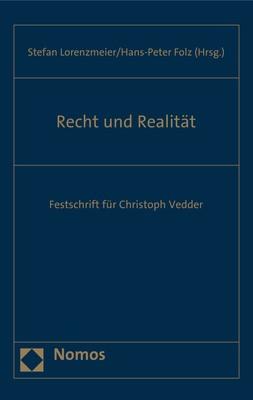 Abbildung von Lorenzmeier / Folz   Recht und Realität   2017