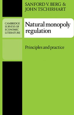 Abbildung von Berg / Tschirhart | Natural Monopoly Regulation | 1989 | Principles and Practice