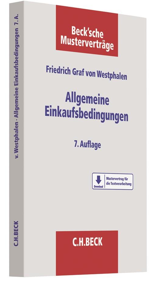 Allgemeine Einkaufsbedingungen | Graf von Westphalen | 7., überarbeitete und aktualisierte Auflage, 2018 | Buch (Cover)