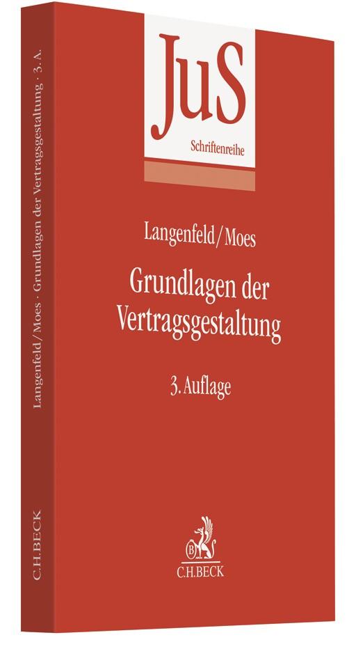 Grundlagen der Vertragsgestaltung | Langenfeld / Moes | 3. Auflage, 2019 | Buch (Cover)