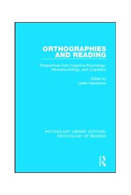 Abbildung von Henderson | Orthographies and Reading | 1. Auflage | 2017 | 3 | beck-shop.de