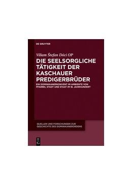 Abbildung von Dóci OP | Die seelsorgliche Tätigkeit der Kaschauer Predigerbrüder | 1. Auflage | 2017 | 23 | beck-shop.de