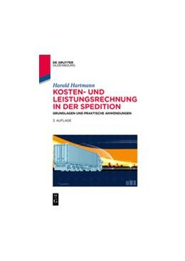 Abbildung von Hartmann | Kosten- und Leistungsrechnung in der Spedition | 3. Auflage | 2019 | beck-shop.de