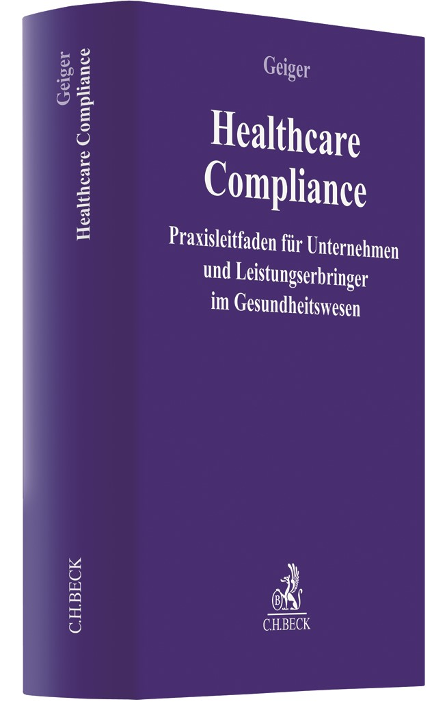 Healthcare-Compliance | Geiger, 2018 | Buch (Cover)