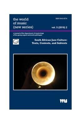 Abbildung von Abels | South African Jazz Culture: | 2017 | Texts, Contexts, and Subtexts