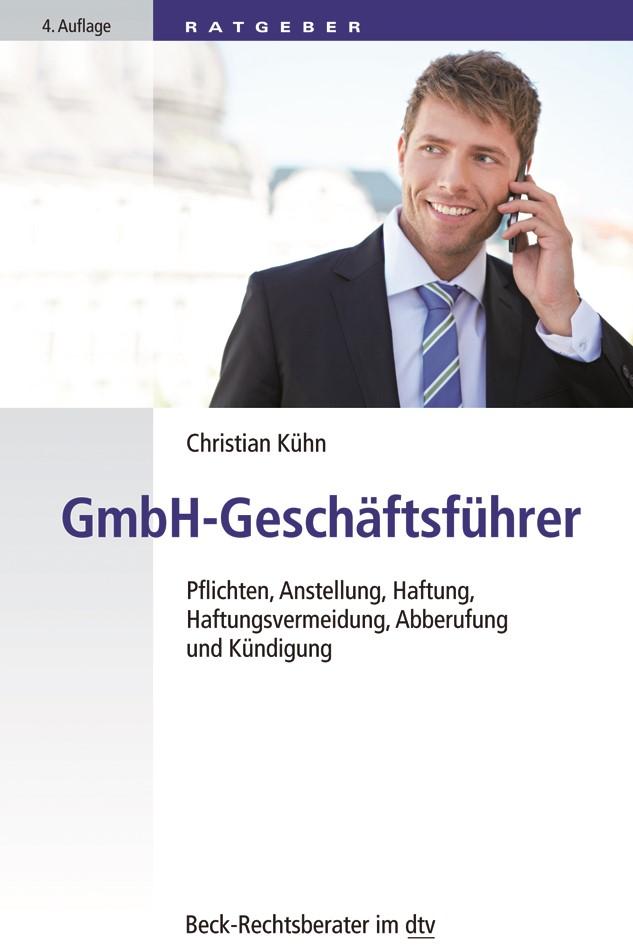 GmbH-Geschäftsführer | Kühn | 4. Auflage, 2018 | Buch (Cover)