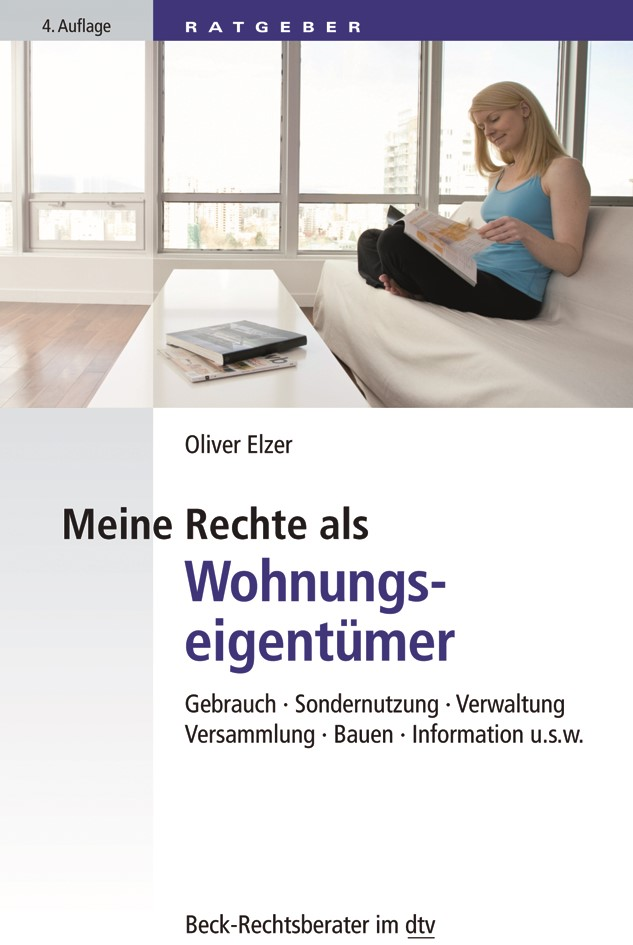 Meine Rechte als Wohnungseigentümer | Elzer | 4. Auflage, 2018 | Buch (Cover)