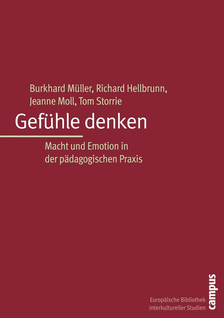 Gefühle denken | Müller / Hellbrunn / Moll, 2005 | Buch (Cover)