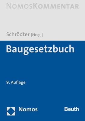 Baugesetzbuch: BauBG | Schrödter (Hrsg.) | 9. Auflage, 2019 | Buch (Cover)