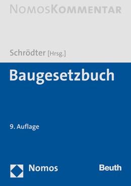 Abbildung von Schrödter (Hrsg.) | Baugesetzbuch: BauBG | 9. Auflage | 2019