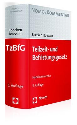 Teilzeit- und Befristungsgesetz | Boecken / Joussen | 5. Auflage, 2017 | Buch (Cover)