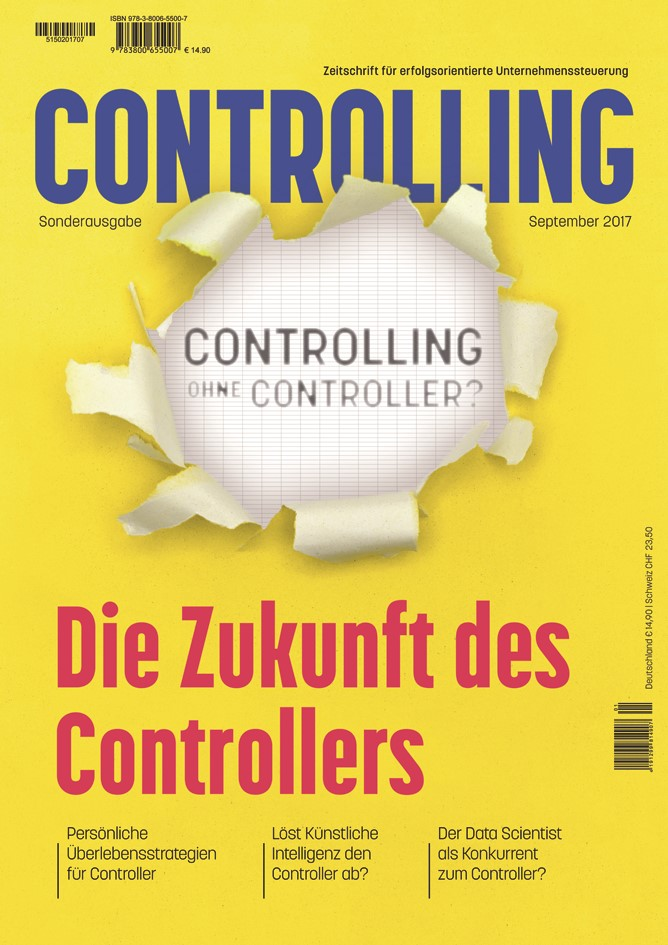 Controlling ohne Controller? | Horváth u.a., 2017 (Cover)