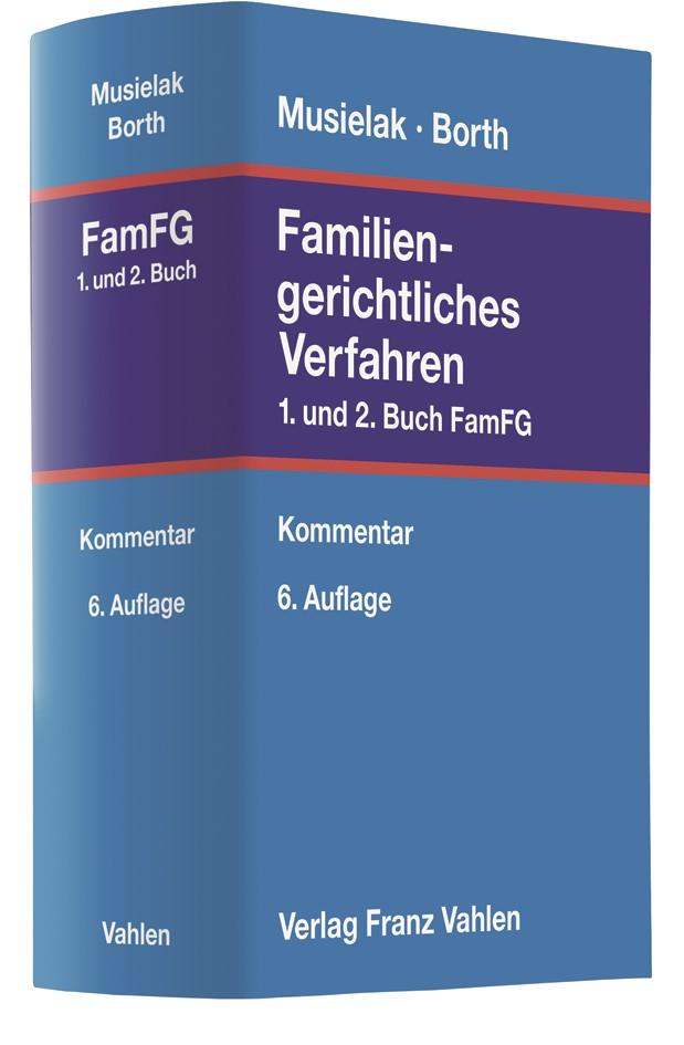 Familiengerichtliches Verfahren | Musielak / Borth | 6., neubearbeitete Auflage, 2018 | Buch (Cover)