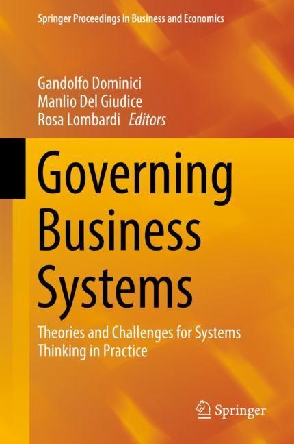 Abbildung von Dominici / Del Giudice / Lombardi | Governing Business Systems | 2018 | 2017